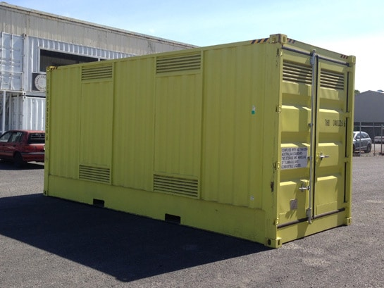 Hazardous Goods Container