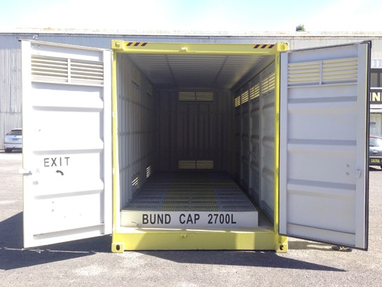 Hazardous Goods Storage