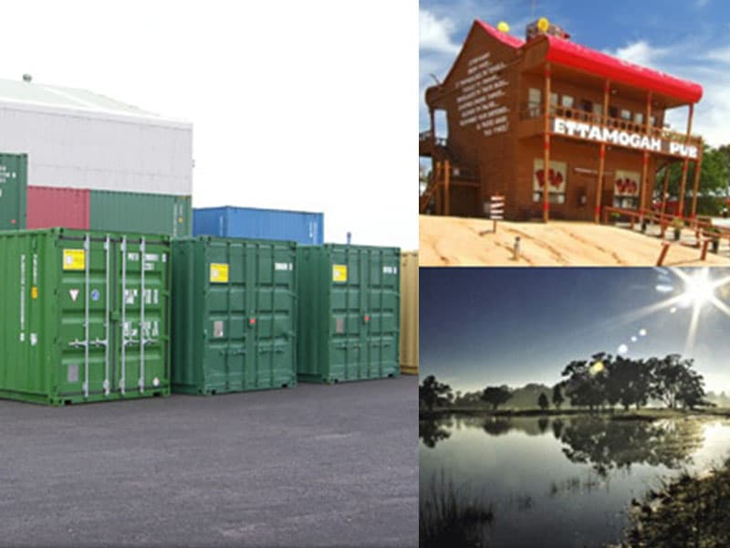 Shipping Containers Albury