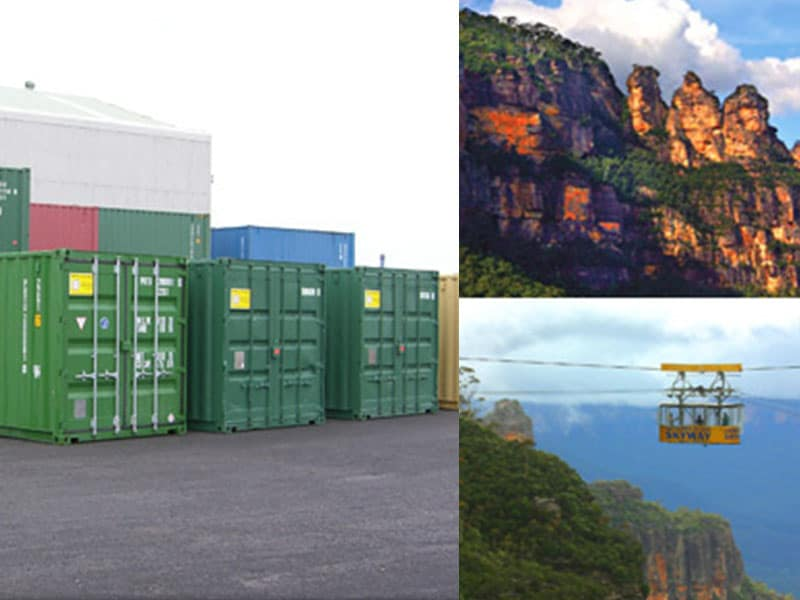 Shipping Containers Blue Mountains