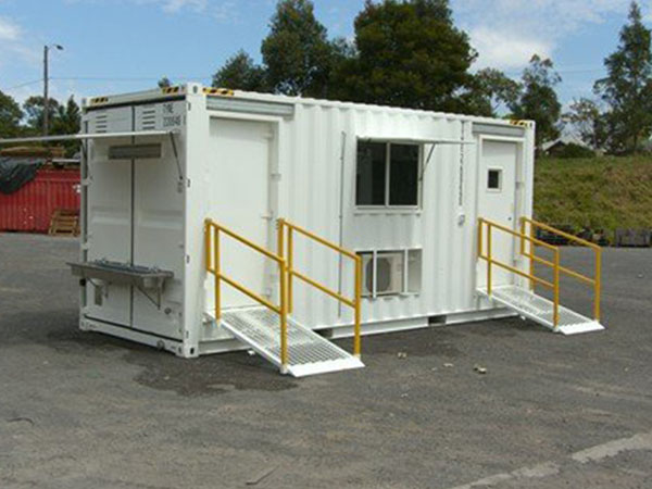 Container Staff Room