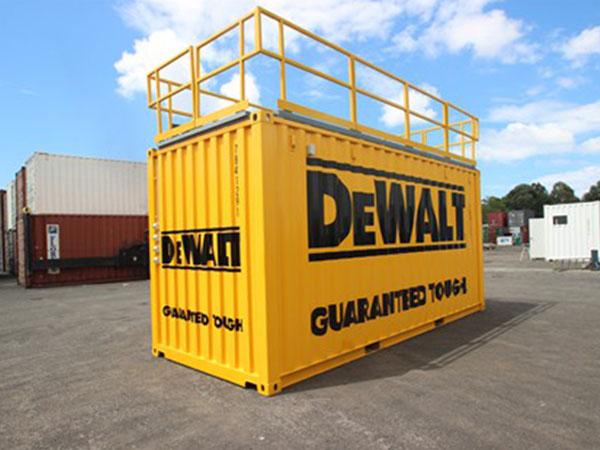 DEWALT Demonstration Container