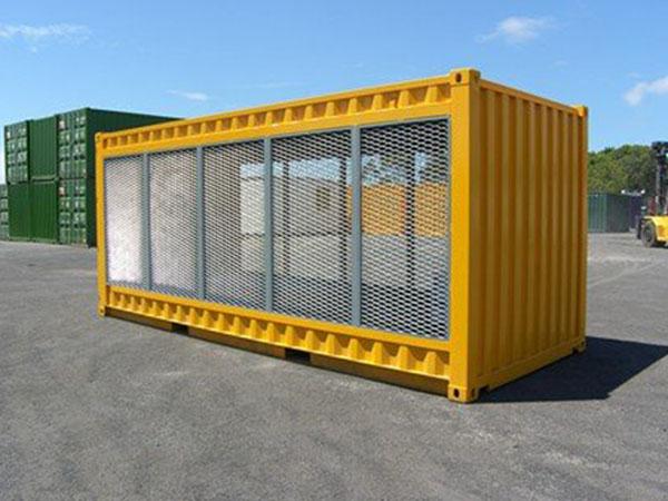 Gas Cylinder Storage Container