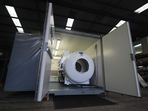 Re-compression Chamber Container