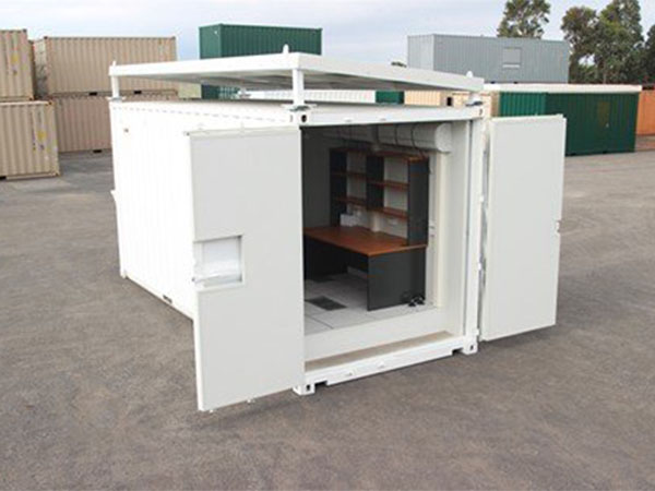 Shipping Container Server Room