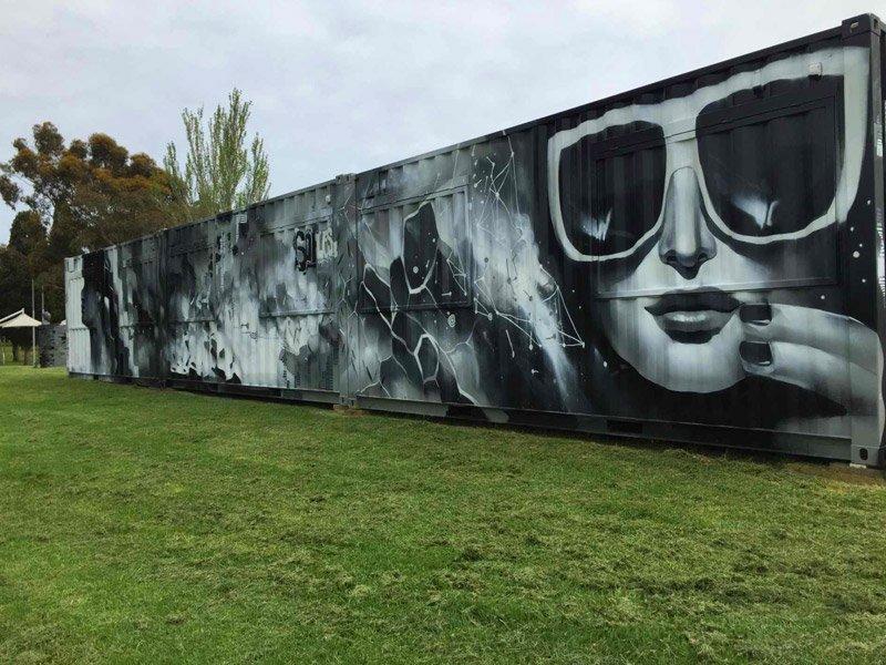Arts Centre Melbourne Container Bars