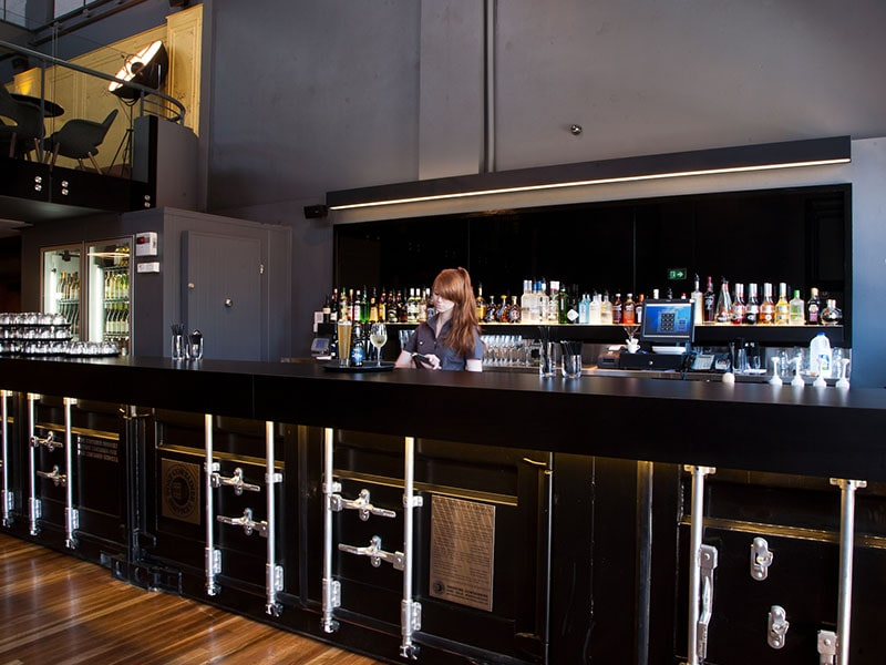 Depot Shipping Container Bar