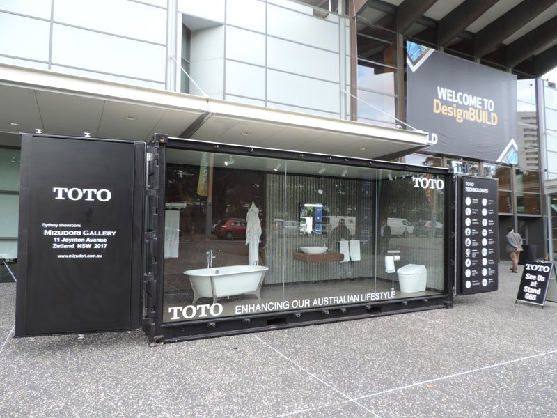 TOTOcube Display Container