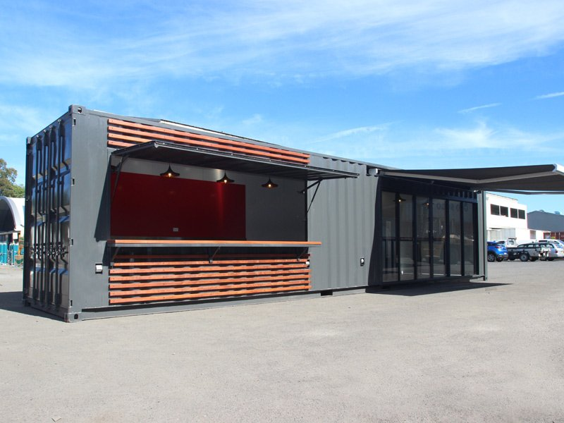 12m Shipping Container Cafe