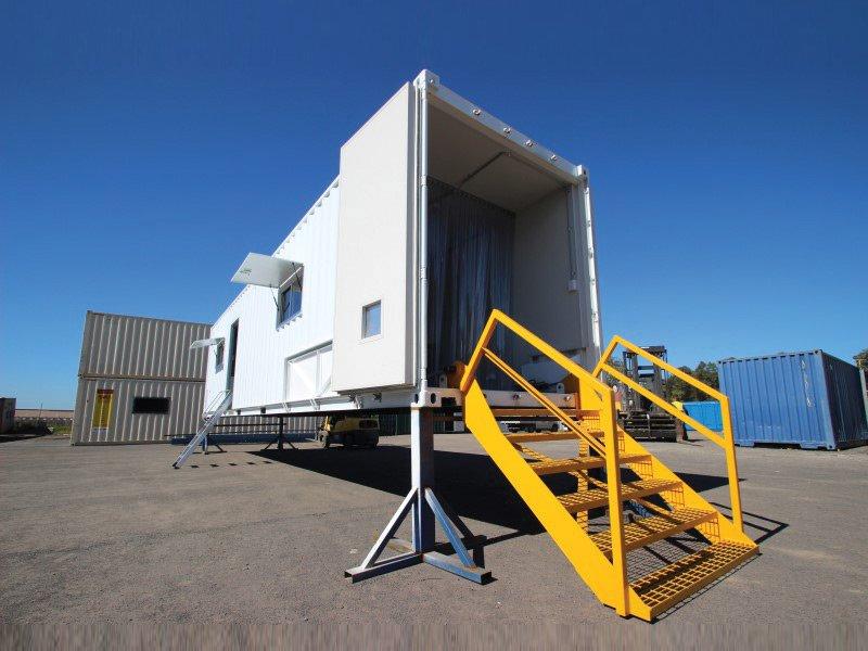 40ft Mobile Mining Workshop