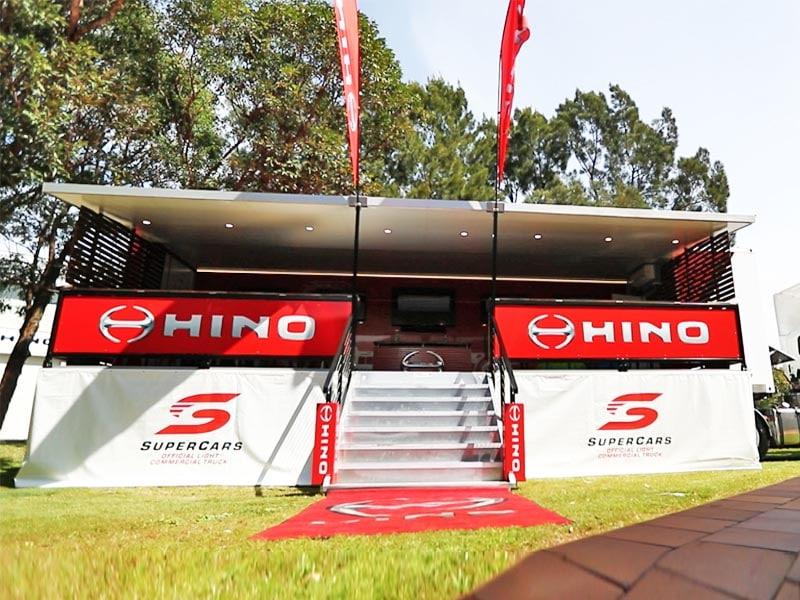 Hino Sports Deck V8 Supercars