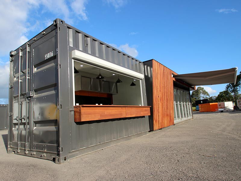 40ft Shipping Container Cafe Special Project