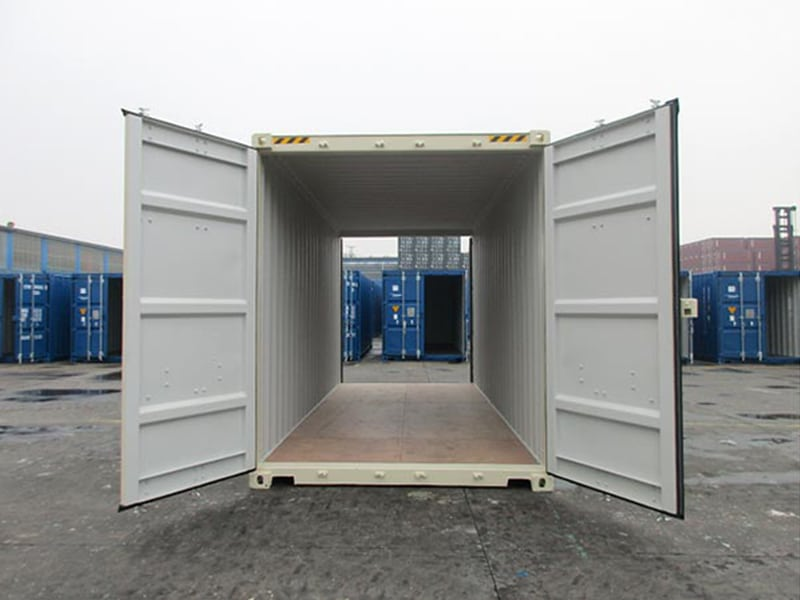 Double Door Shipping Containers
