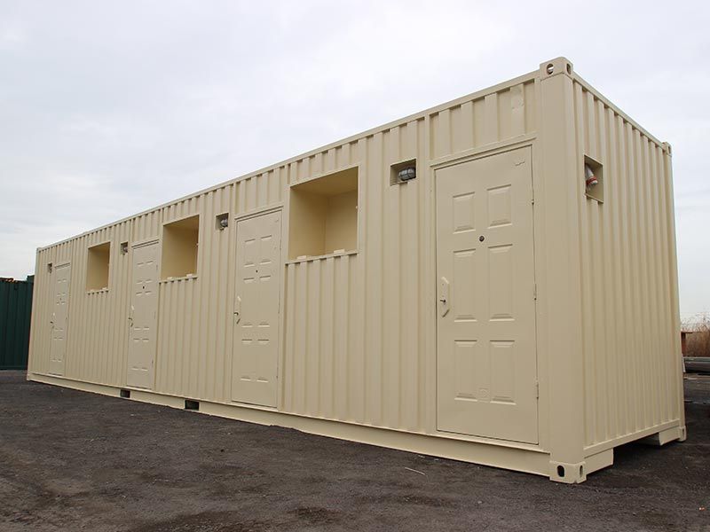 Three Berth Accommodation Container