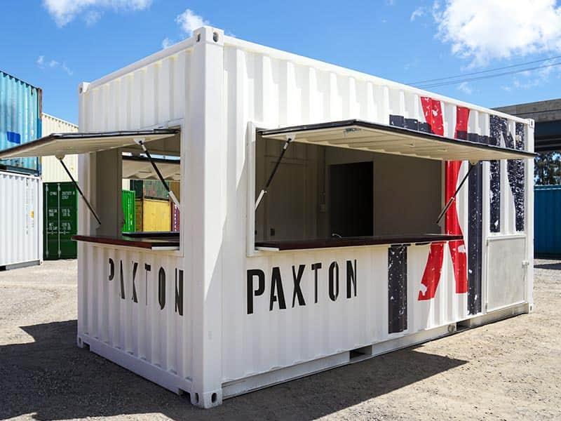 Paxton Wines Cellar Door Container