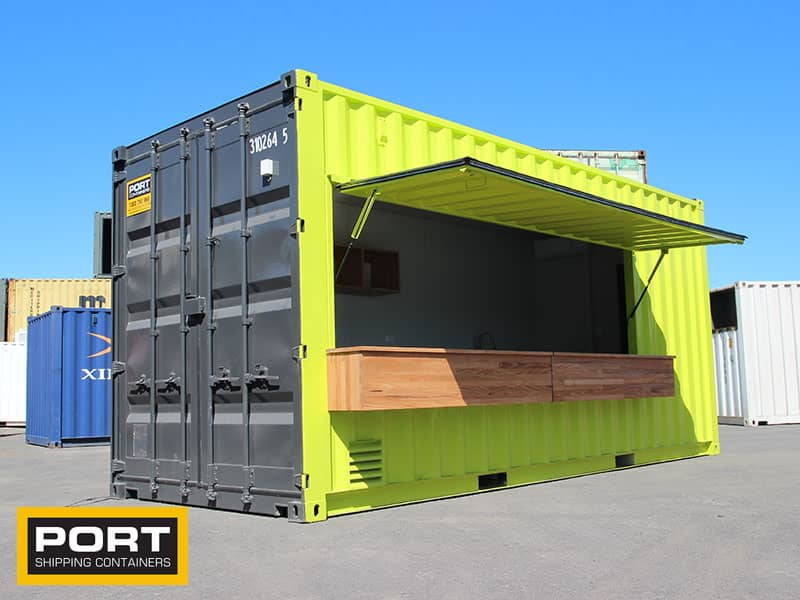 Custom Container Cafe