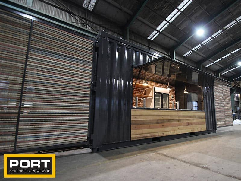 Ultimate Container Bar Special Projects By Port Shipping