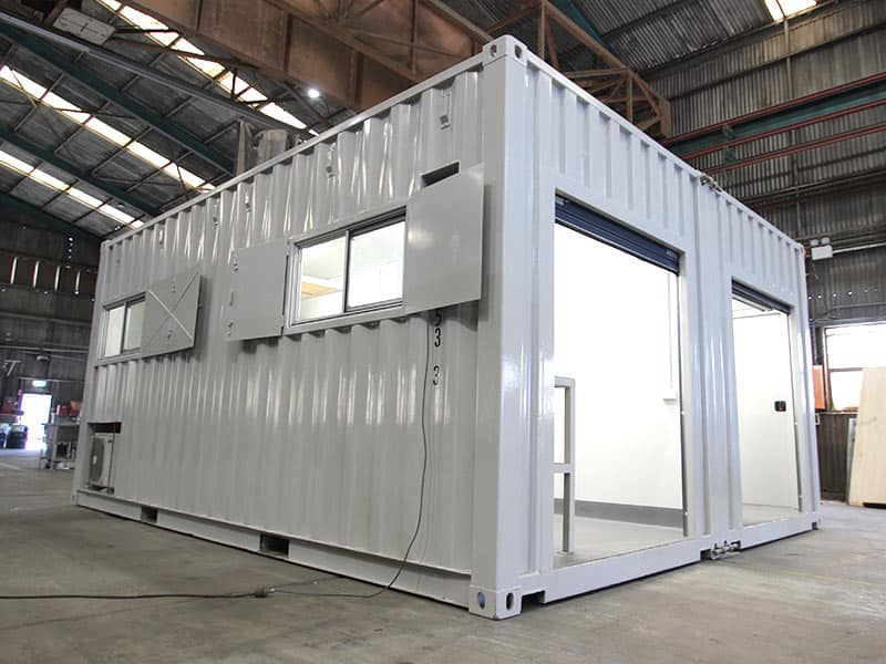 Shipping Container Laboratory