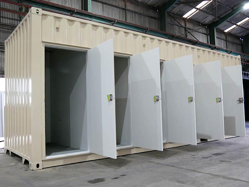 Container Toilet Blocks