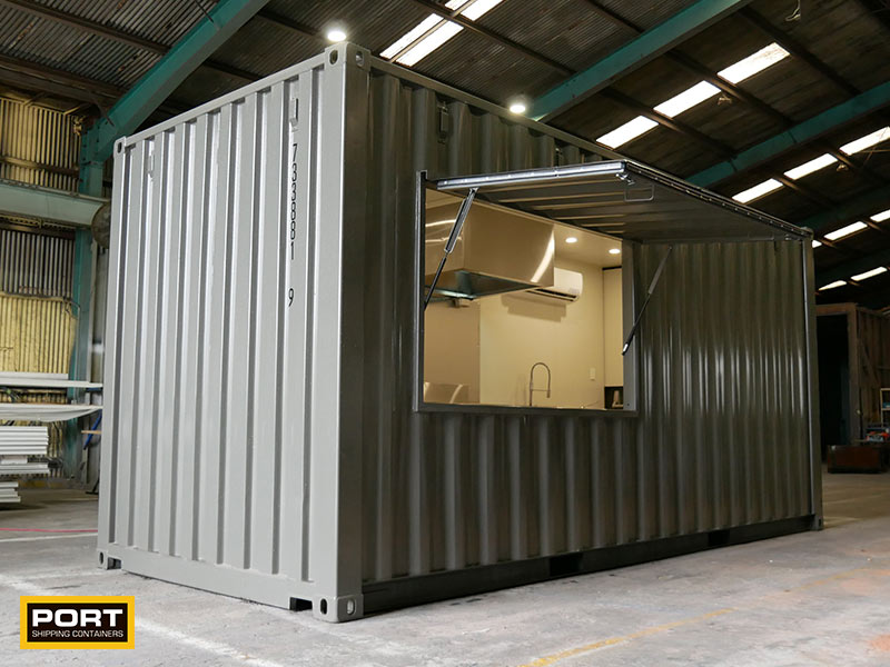 New Container Cafe Design