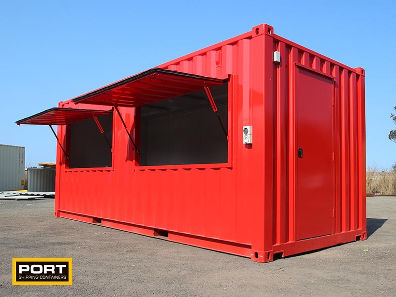 Ticket Office Container