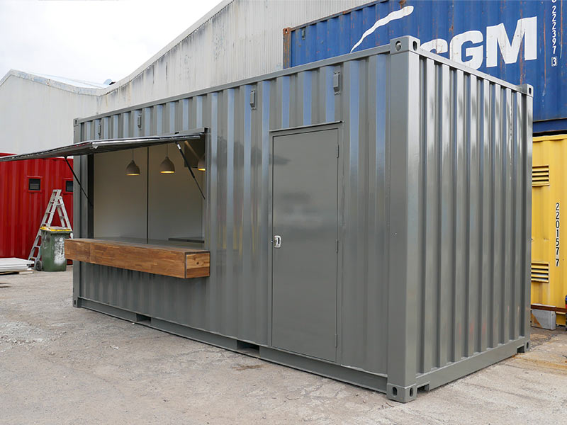 Container Kitchen Cafe