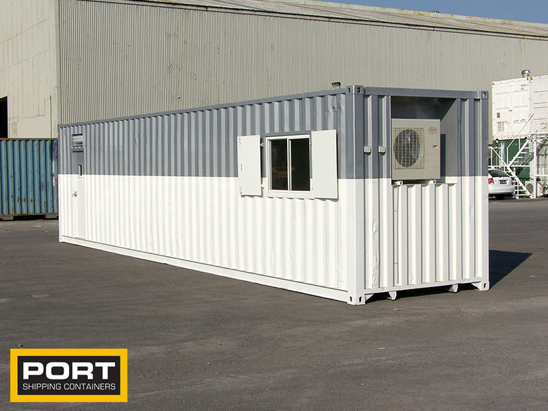 Savanah Gym - 40ft Container Office