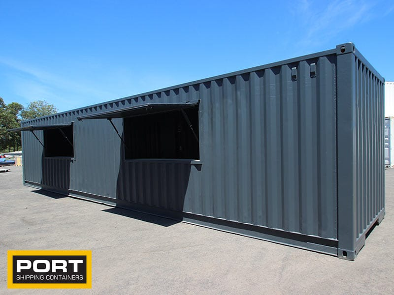 40ft Kiosk Containers
