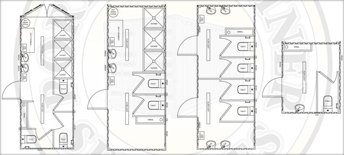 Ablution Units Schematic