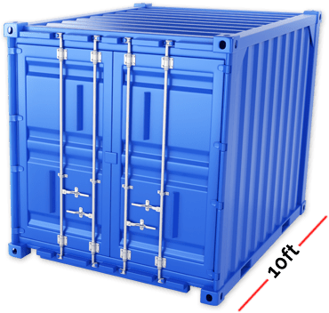 Container Size - 10ft