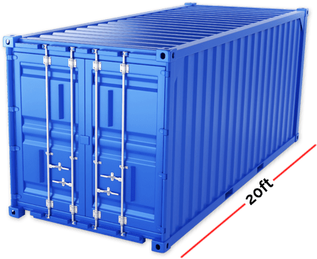 Container Size - 20ft