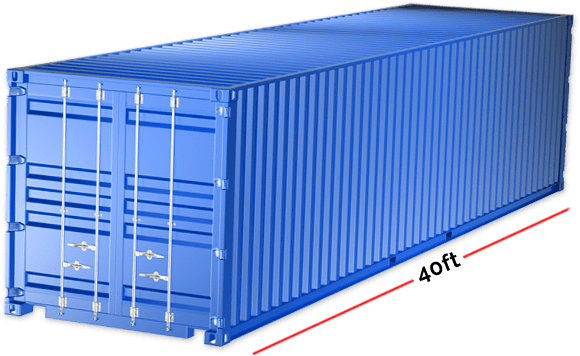 Container Size - 40ft
