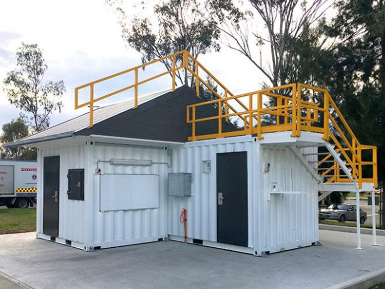 Confined Space Training Container