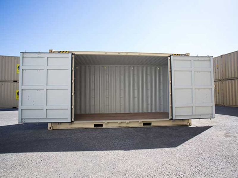 Shipping Container Side Opening