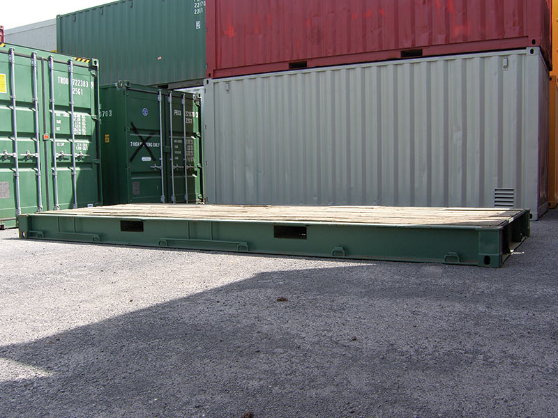 Bolster Shipping Containers