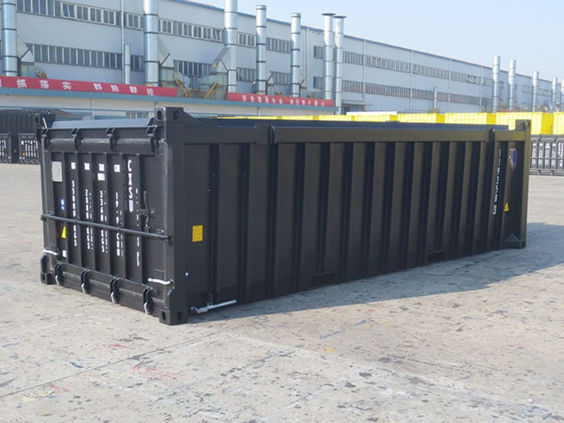 Open Top Half Height Shipping Containers