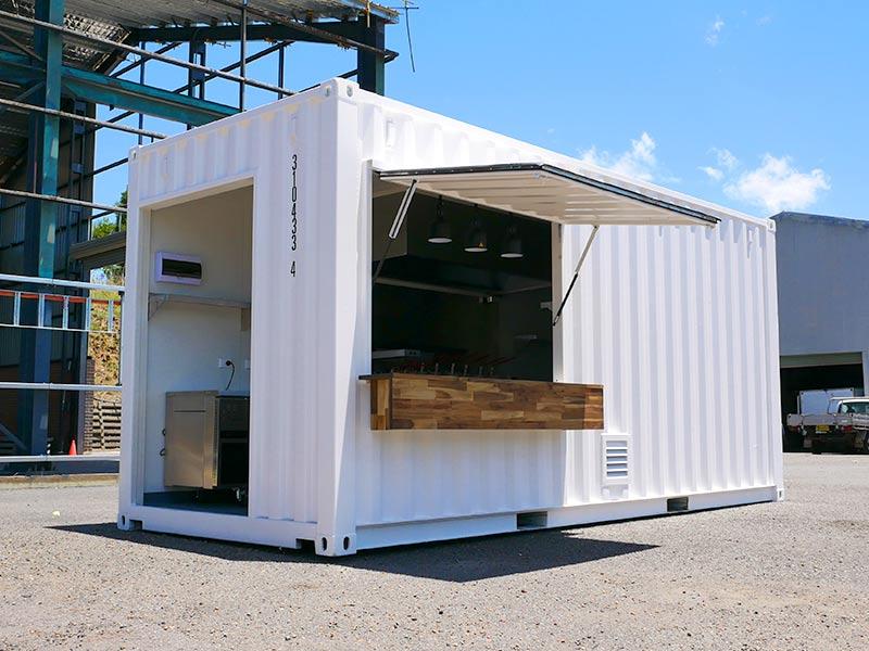 Modular Container Kitchen Extension