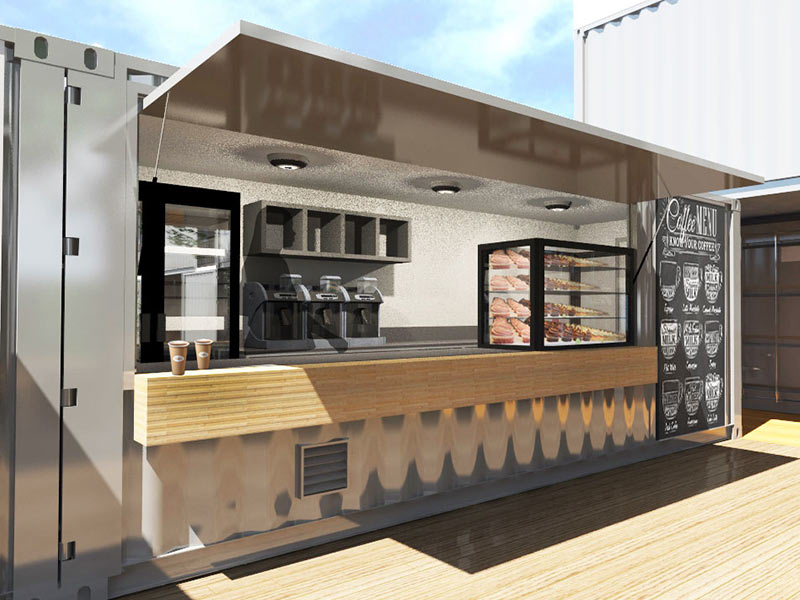 Nomad Container Cafe
