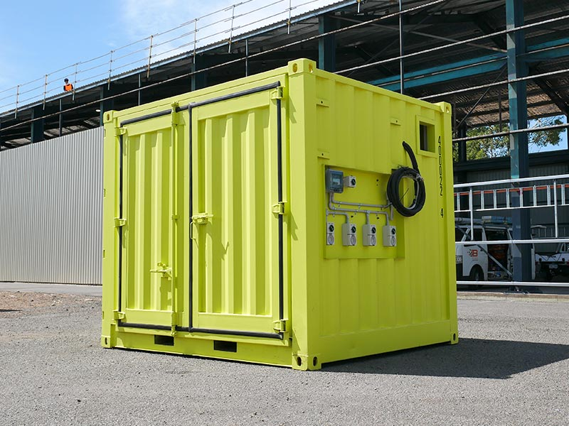 How a shipping container is made