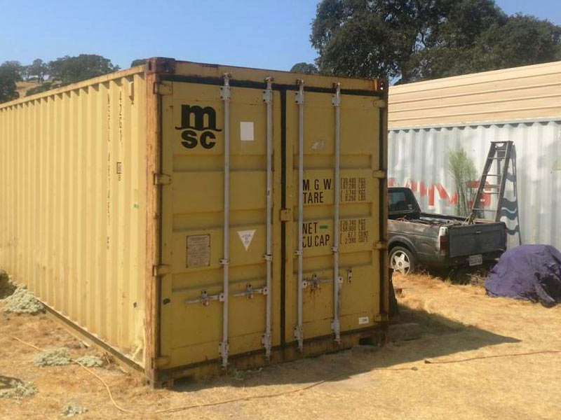 What are shipping container dimensions?