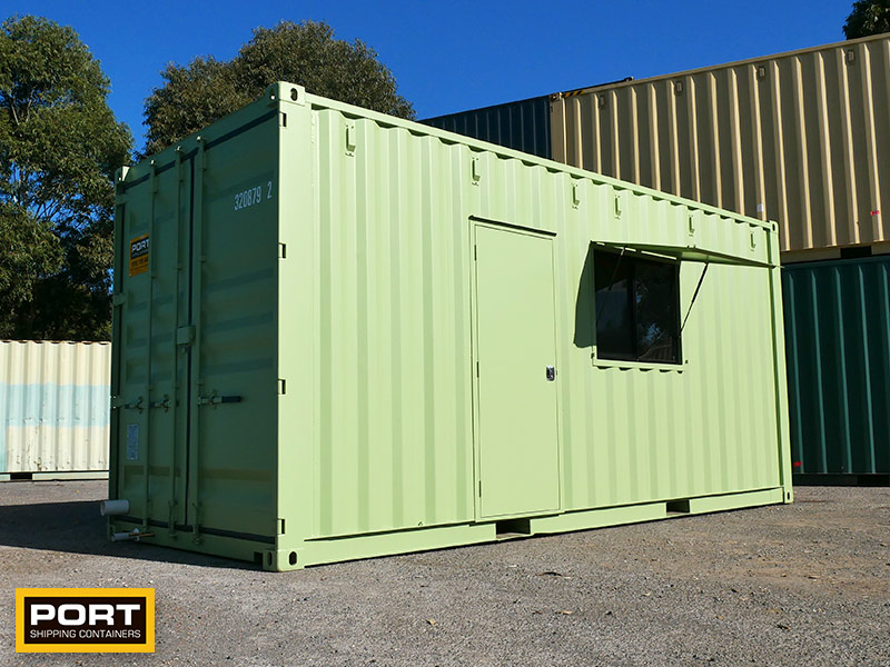 Granny Flat Shipping Container
