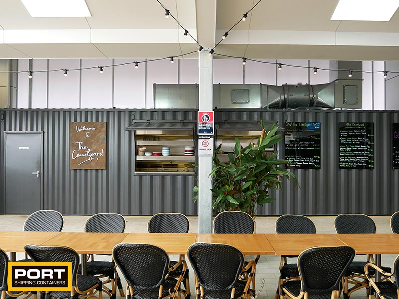 Club Container Kitchen